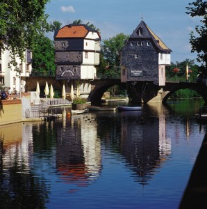 Bridge houses Bad Kreuznach