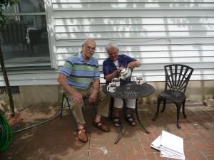 Hugh and Barbara Cassidy