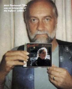 Mick Fleetwood with the Songbird album