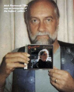 Mick Fleetwood with Eva's Songbird album