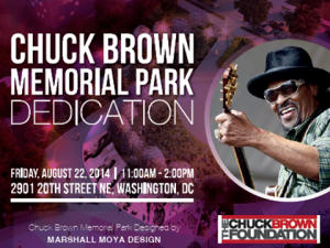 Chuck Brown Park Flyer