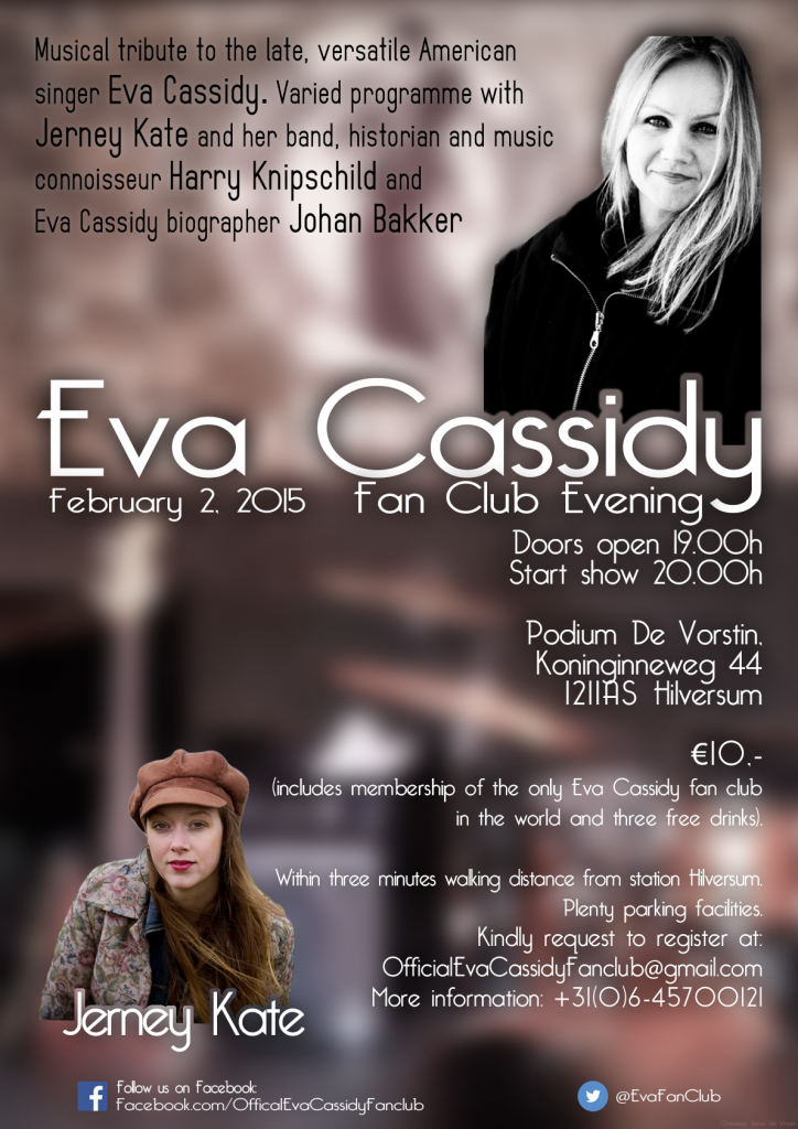 Eva Cassidy Fan Evening