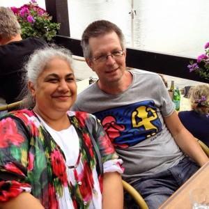 Celia Murphy and Johan Bakker