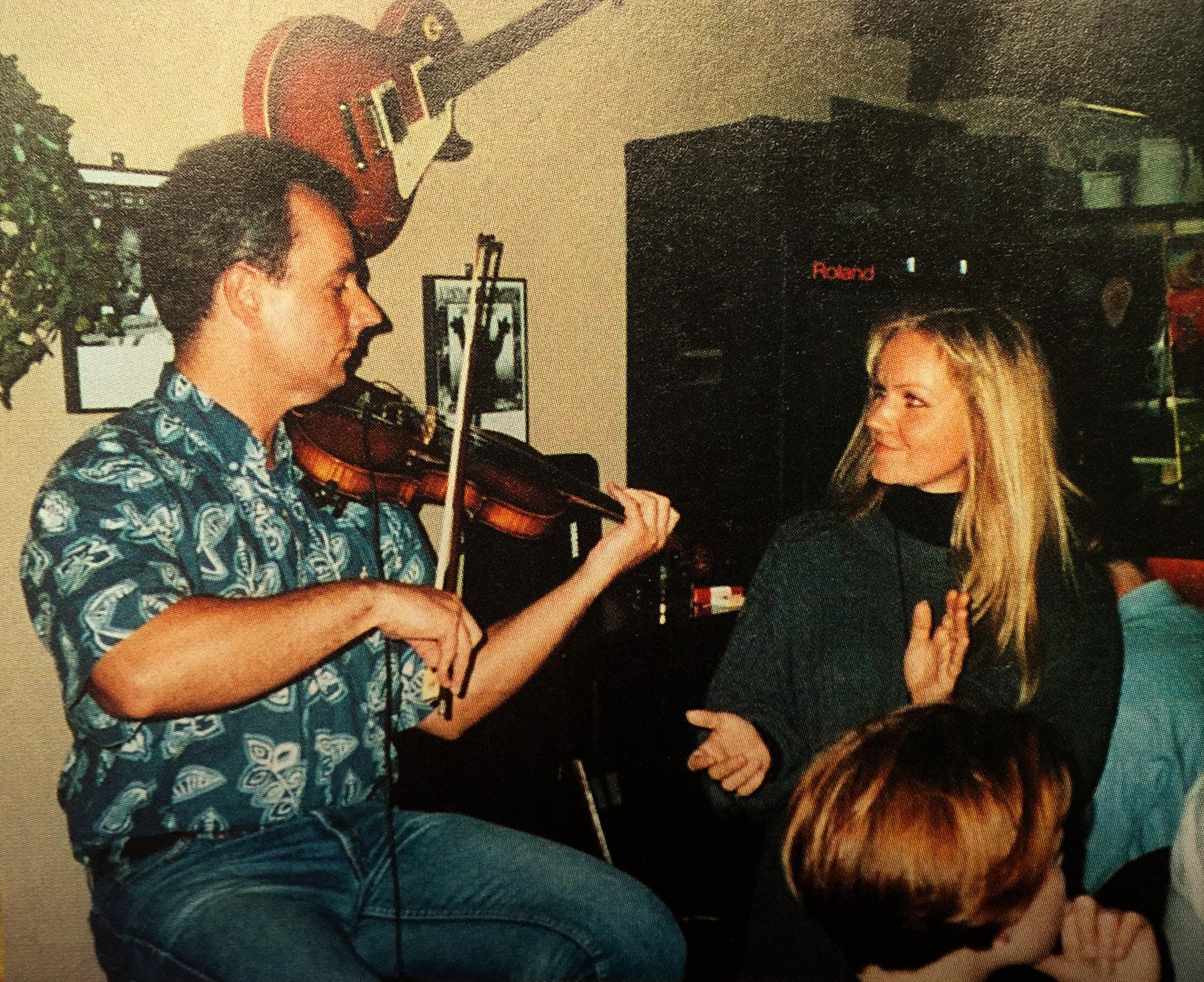 Eva en Dan Blues Bar