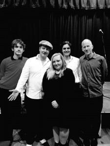 With Dan's Swing Quartet
