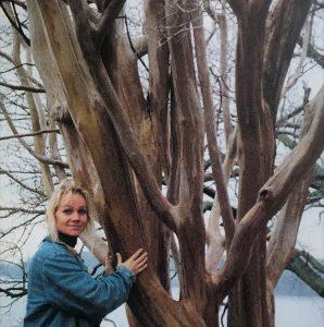 Eva loved trees