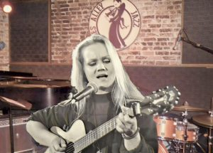 Eva at Blues Alley