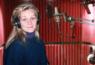 Eva with headphones